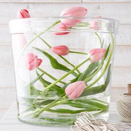 tulpen im glas dekorieren tulpen ausgefallene dekoideen zum nachmachen living