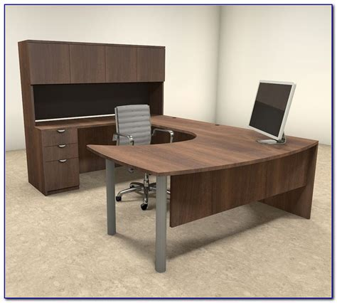 U Shaped Desks Home Office Desk Home Design Ideas Home Office U Shaped Desk