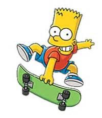 image 200px bart skateboarding.png | simpsons wiki