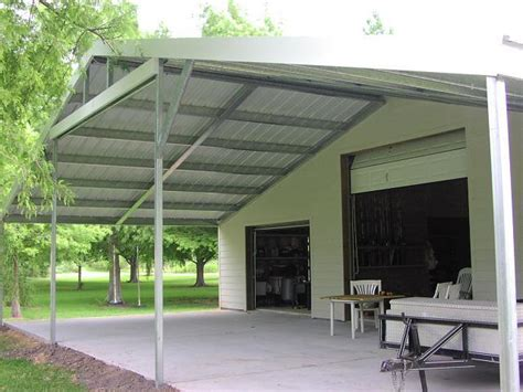 carports patios and custom work allsteel construction
