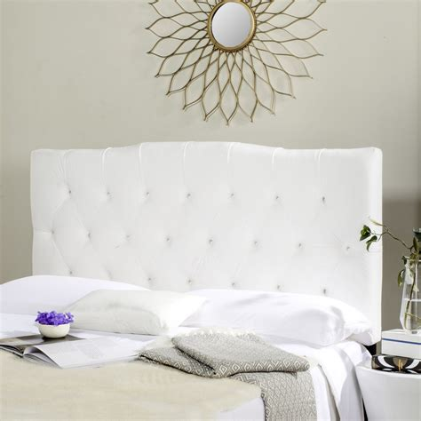 white tufted headboard axel white tufted headboard headboards furniture by safavieh