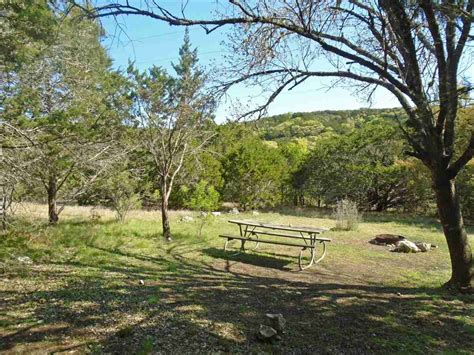 hill country state natural area primitive csites hike