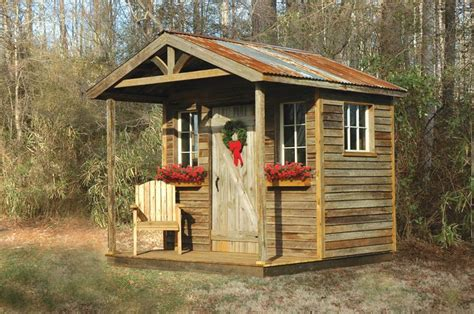 Rustic Potting Sheds by Rustic Sheds With Porch Rustic Sheds
