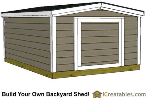 8x10 Storage Shed Plans by 6x8 Shed Plans Shed Plans With Low Roof Height