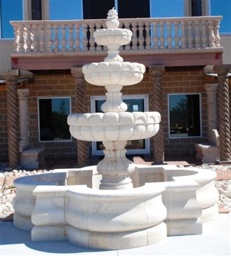 Cantera Water Fountains Cantera Used In Outdoor Water Features