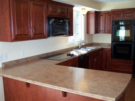 kitchen cabinets and countertops ideas cherry kitchen cabinets homeoofficee
