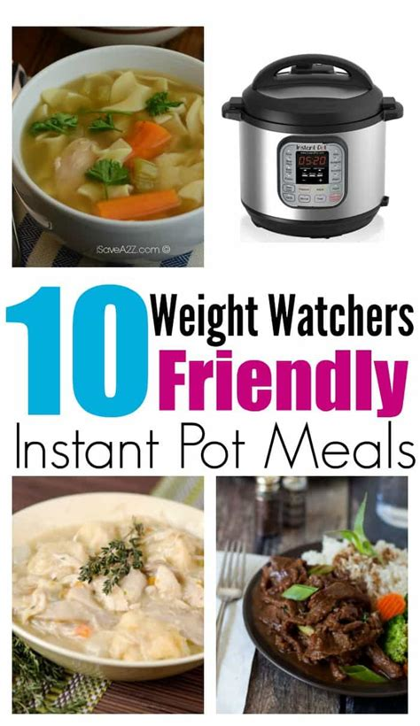 10 easy instant pot recipes 10 instant pot recipes for weight watchers all wants