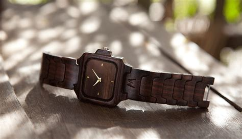 Jam Tangan Wooden Style 34 nine stylish wood watches we want to wear right now eluxe magazine