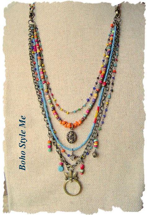 how to make bohemian jewelry 25 best ideas about bohemian jewelry on boho