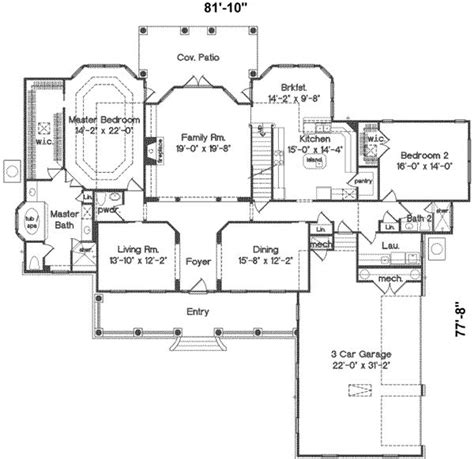 collection 4000 square foot house plans one story photos free