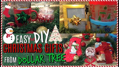 6 diy christmas gift ideas from dollar tree small easy