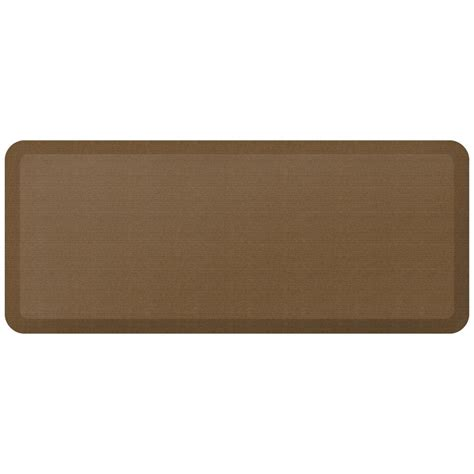 newlife comfort mat newlife designer grasscloth khaki 20 in x 48 in anti