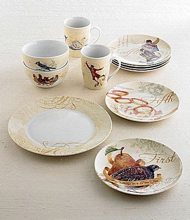 dillards 12 days of christmas noble excellence quot 12 days of quot dinnerware dillards dinnerware