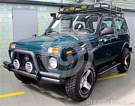 lada con timer vaz lada niva 4x4 jeep editorial stock image image 37456759