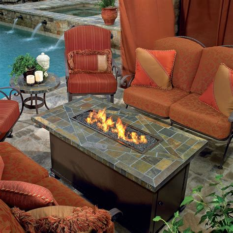 propane patio pit table pits tables for sale hayneedle heating lighting