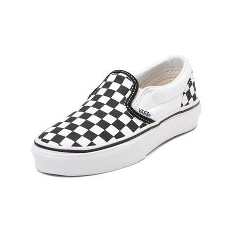 youth shoes youth vans slip on chex skate shoe black 1498250