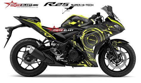 Striping Honda Vario Fi Ironman Yellow modifikasi striping kawasaki z250sl black yellow motoblast