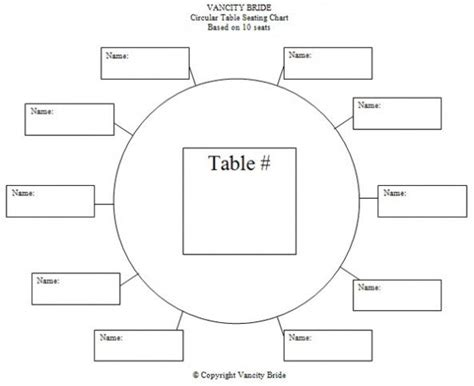 %name Dinner Seating Plan Template   wpic.ca   Wedding Planners Tools: PowerPoint Template for Seating Charts