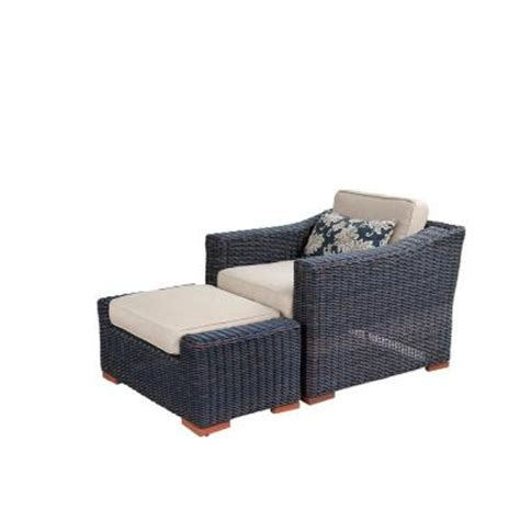 rst brands resort weathered grey patio club chair and