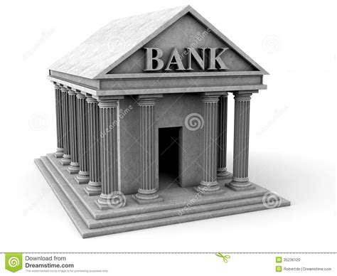 bank a bank icon stock photo image 35236120