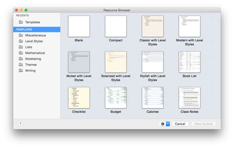 omnioutliner 4 3 for mac user manual using the resource