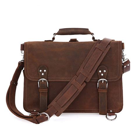 rugged leather rugged leather messenger bag