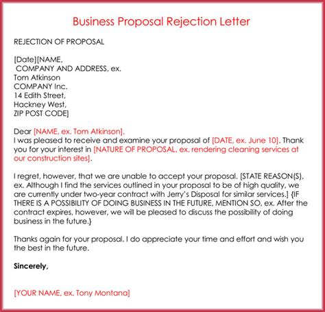 Generic Decline Letter rejection letters 20 free sles formats for hr
