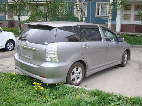 Toyota Wish Sale 2008 Toyota Wish For Sale 1800cc Gasoline Ff