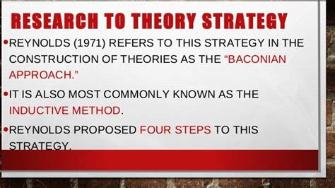 define baconian induction chapter 5 theory development process