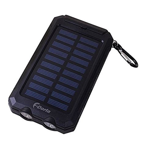 F Dorla 20000mah Power Bank Solar Charger Waterproof Solar Light Battery Charger