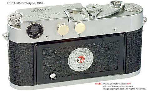 visual profile on leica m3 chrome, prototype rangefinder