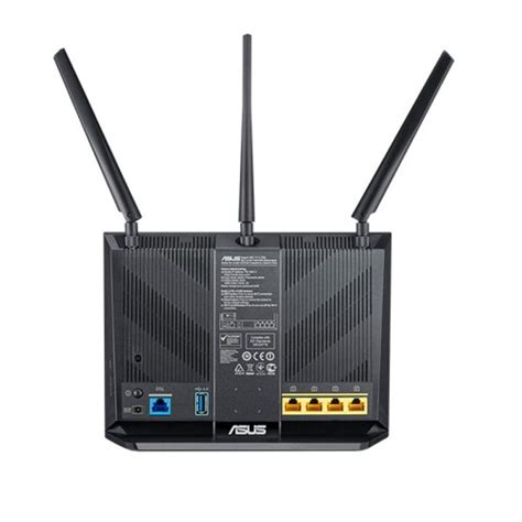 Modem Router Asus asus dsl ac68u dual band wireless ac1900 gigabit adsl vdsl modem router ebuyer