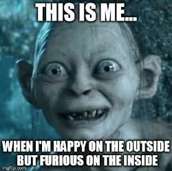 Smeagol Meme - the gallery for gt gollum meme no makeup