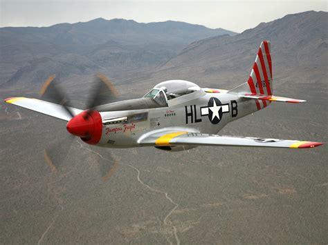 p 51d mustang tempus fugit aircrafts