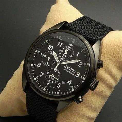 Alba Chrono Black seiko chronograph black style seiko