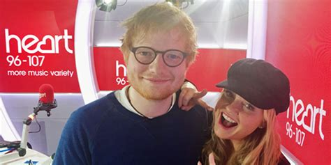 ed sheeran goodbye emma bunton e ed sheeran cantam goodbye na heart fm