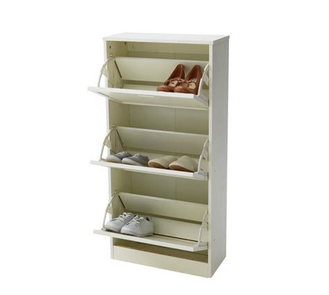 argos shoe cupboard storage buy home hereford shoe storage cabinet white at argos co