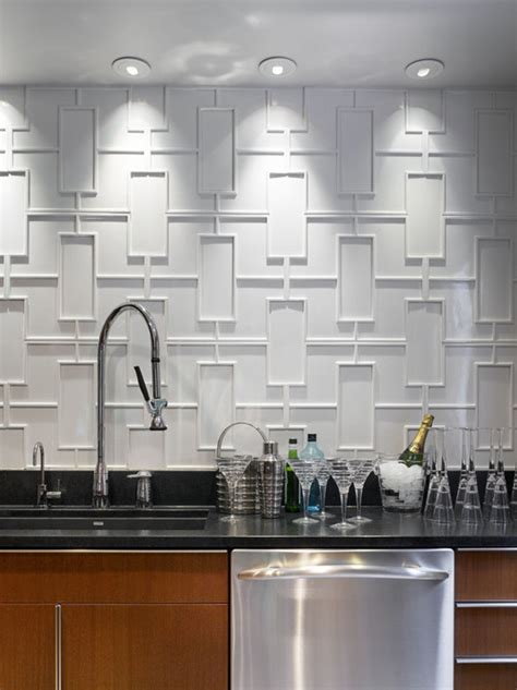 the of the kitchen patterned tile where bold meets