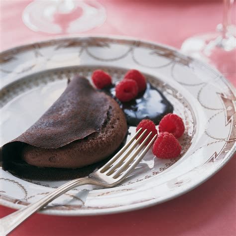St Patrick S Day Home Decorations by Chocolate Crepe Souffle Recipe Martha Stewart