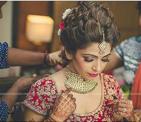 Wedding Hairstyles For Indian Brides by Wedding Hairstyles Awesome Hairstyle For Brides In Indian