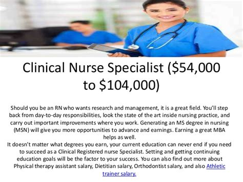 Msn Mba Nursing Salary by The 5 Various Paying Nursing