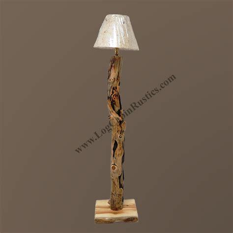 Sofa Stain Protection Mountain Woods Log Furniture Aspen Log Table Lamp