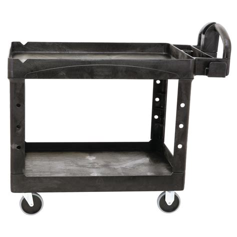 Lipped Shelf by Rubbermaid Commercial Products Heavy Duty Black 44 In 2
