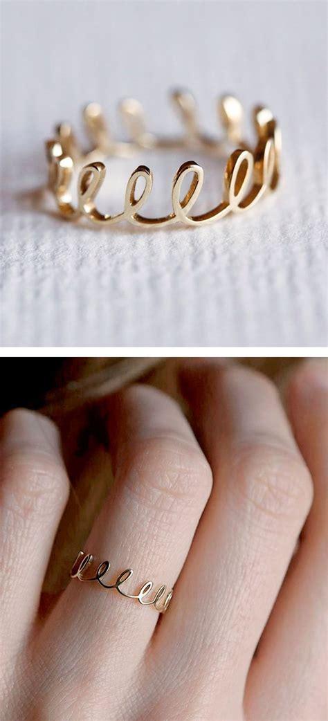 Cincin Emas 167 ringdainty jewelry rings loop rings crowns rings gold
