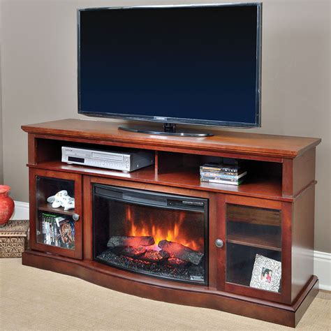 walker infrared electric fireplace entertainment center in