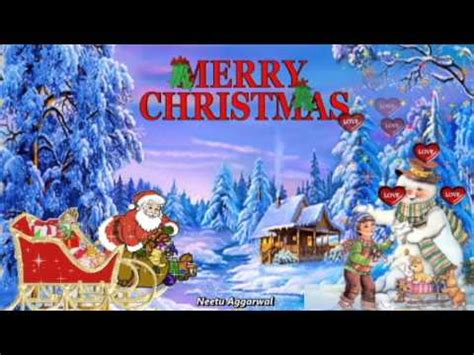 merry christmas happy  year wishes  beautiful animated picssonglyrics
