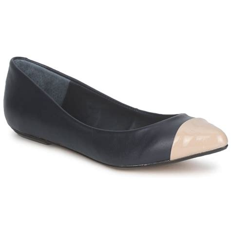 Connexion Flat Shoes connection tilly black free delivery with