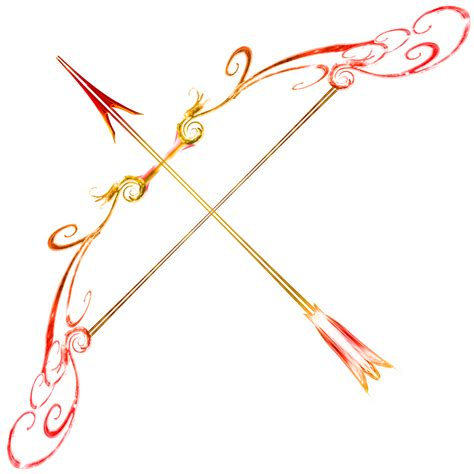 Bow And Arrow Drawing Ruby Bow Fire Opal Arrow By Sunrise Oasis On Deviantart