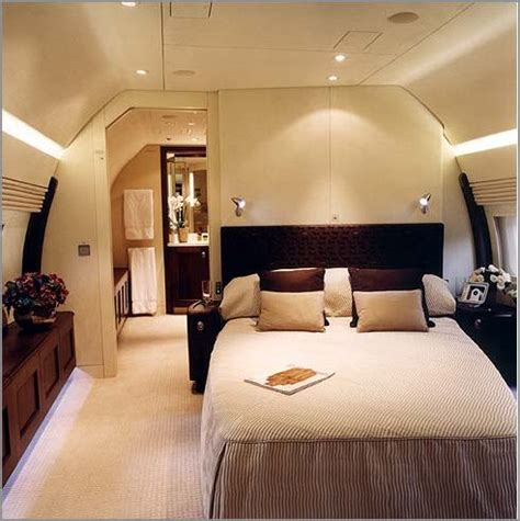 private jet with bed bbj bedroom adrian storm flickr