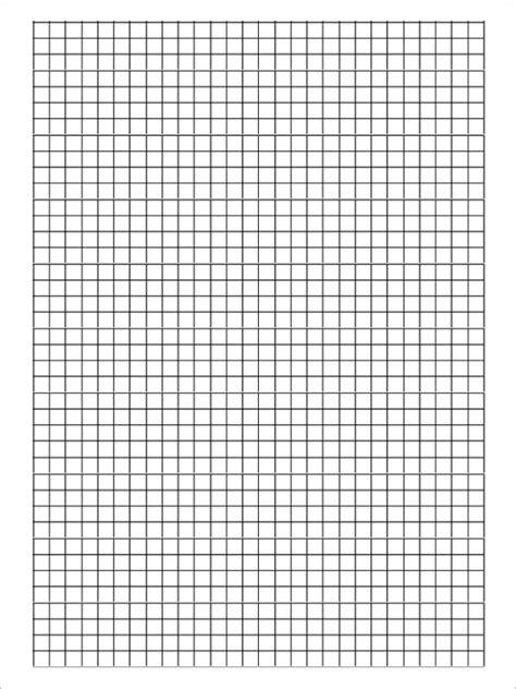 graph paper printable template pdf